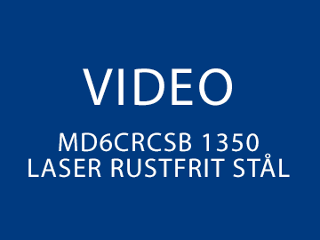 Costa MD6CRCsb 1350 Laser rustfrit stål